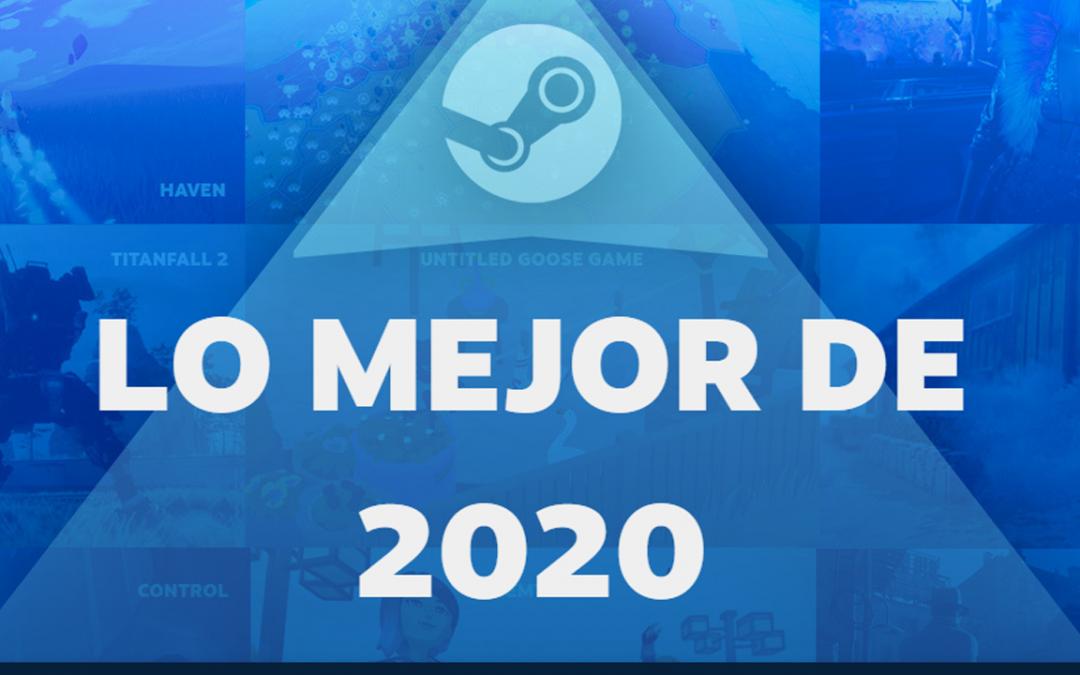 LO MÁS JUGADO DE STEAM EN 2020