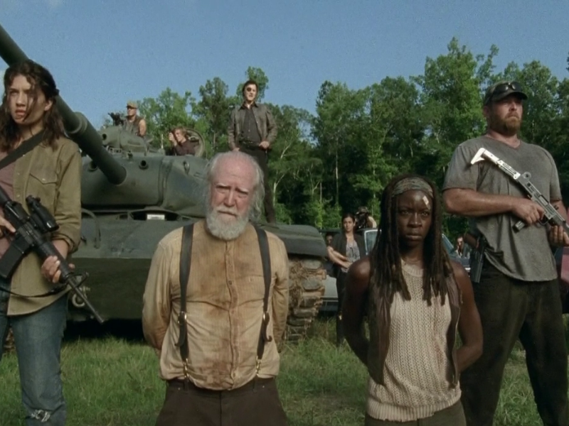 TEMPORADA 4 - EPISODIO 8 - TOO FAR GONE - THE WALKING DEAD