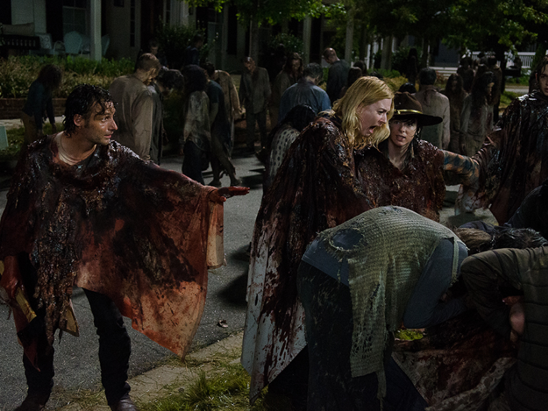 THE WALKING DEAD - Temporada 6 - Episodio 9 - No Way Out