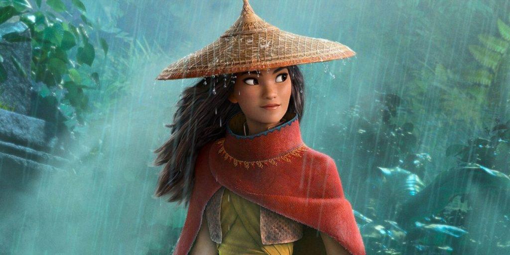 Raya con vestuario representativo de la cultura sudasiática