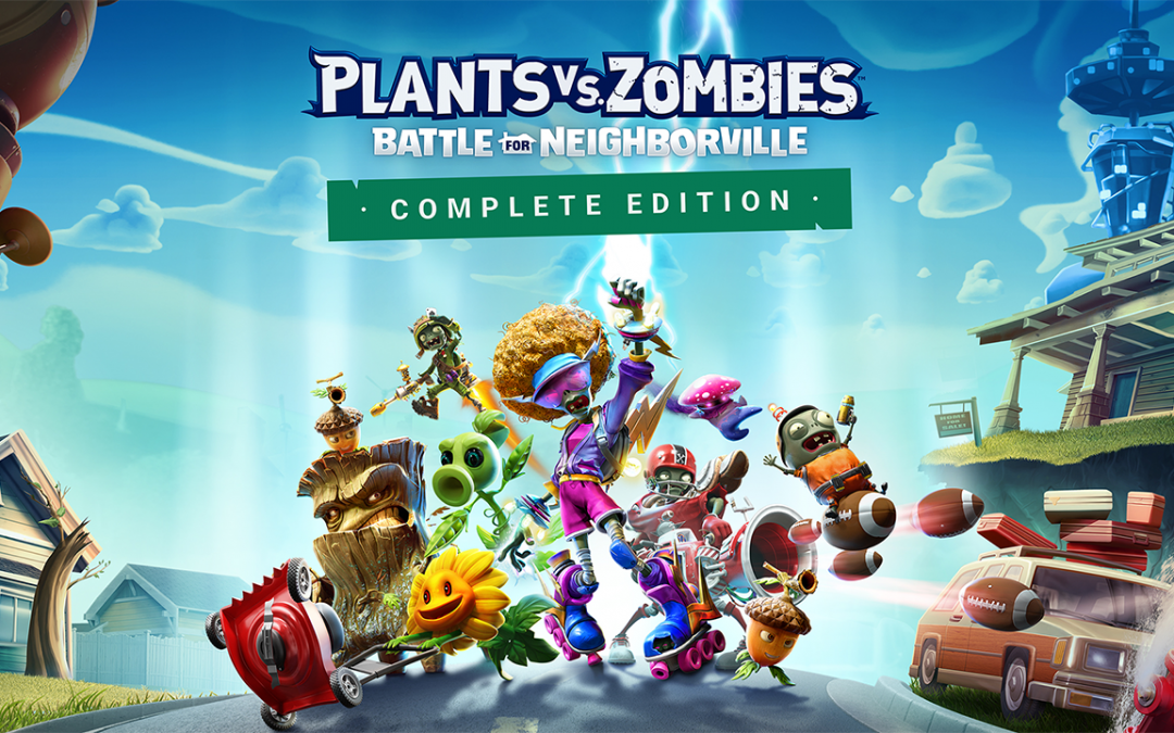 PLANTS VS ZOMBIES LLEGA A NINTENDO SWITCH