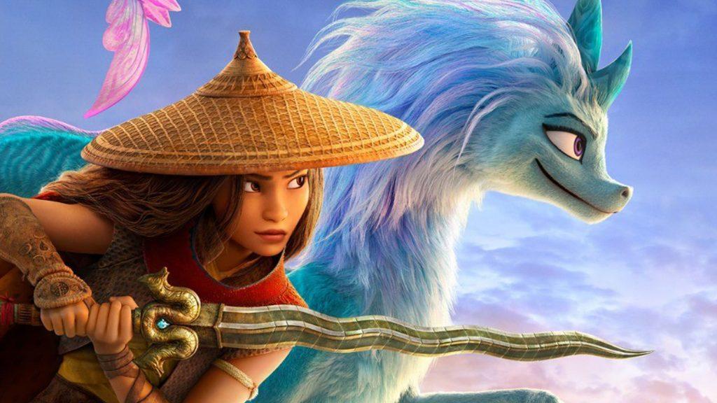 Raya y Sisu, el último dragón